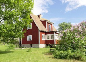 hus trädgård